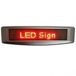 LED-es Kiíró panel